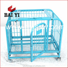 Cheap Portable Square Tube Metal Dog Cage And Fancy Dog Kennels For Dogs