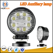 27W Round Flood Beam/LED Work Lamp 9-32V LED Tractor Working Lights Driving Light