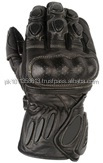 Black Motorbike Sports Gloves
