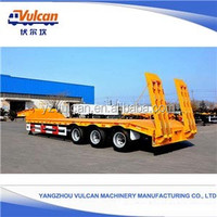 2016Made In China Popular Trailers High Technology Gooseneck Flated Semi Trailer(Customized)
