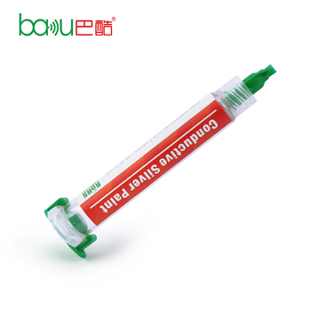 BAKU BK 426 wholesale price handmade electrically conductive silver paste for flexible circuits / LED / solar cell
