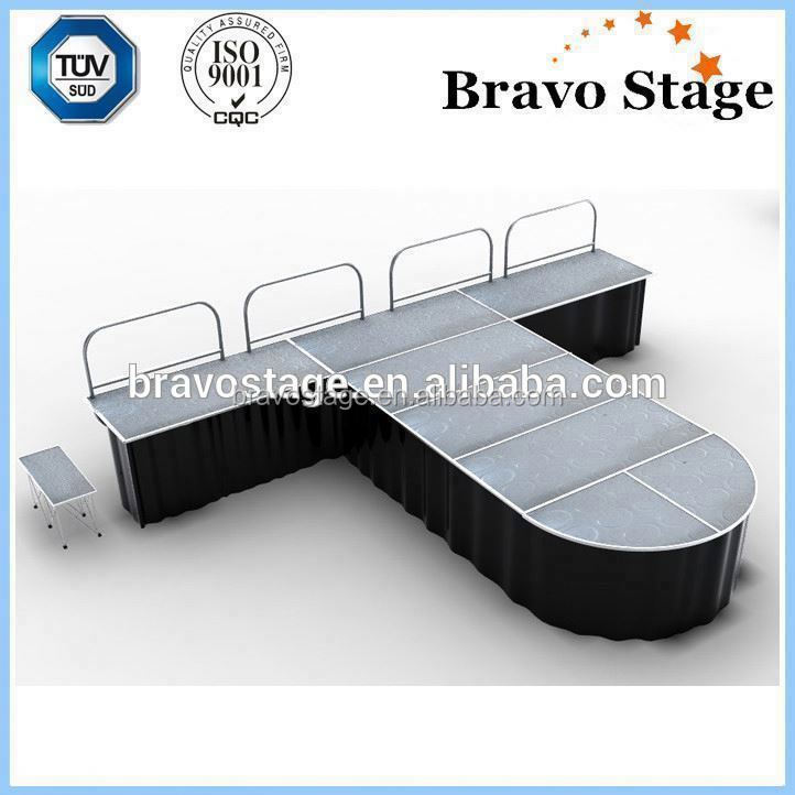 Folding Stage Fold Up Stage Folding Portable Stage musical instruments