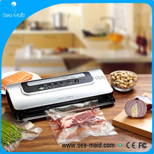 Automatic Food Saver with Cutter Vacuum Sealer Multifunction Vacuum sealing Machine Roll Bag for Foods Preservation