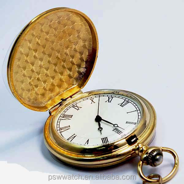 Fashion gold face chain cheap pocket watch japan movt quartz regal western pocket watch buy for Celebrity quartz watch japan movt
