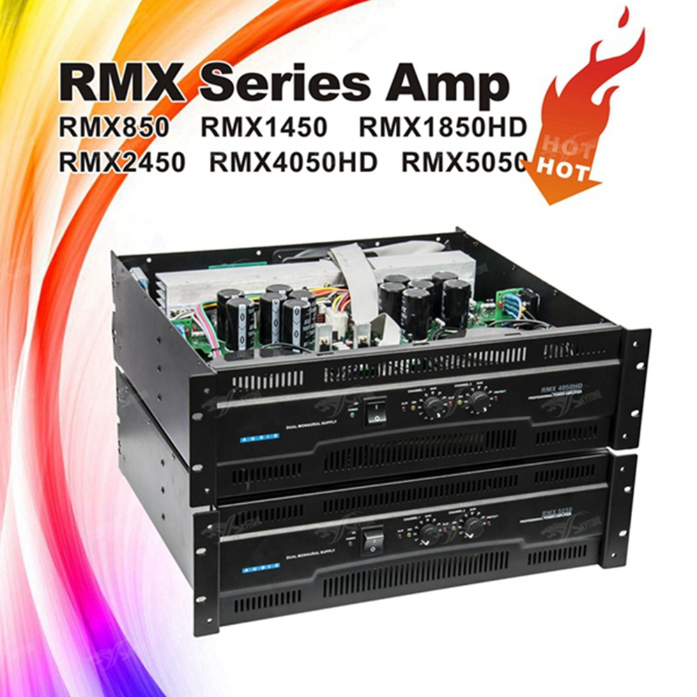 amplifier RMX5050 professional most power amplifier