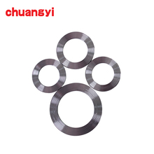 Made in china pipe flange metal corrugated gasket