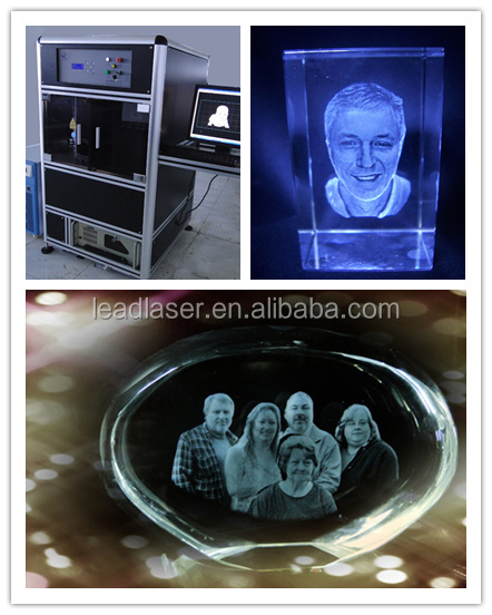 Prensent Technical 3D photo crystal laser engraving machine