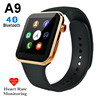 Hot A9 Bluetooth Smart Watch Heart Rate Monitor Pedometer Calorie Counter Wristwatch Band for iPhone 5s 6s for Samsung S6 S7