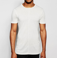 100% cotton wholesale blank high quality plain white t shirts for men
