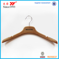 Hot Sale Rubber Paint Chrome non-slip Plastic Hanger made in dongguan
