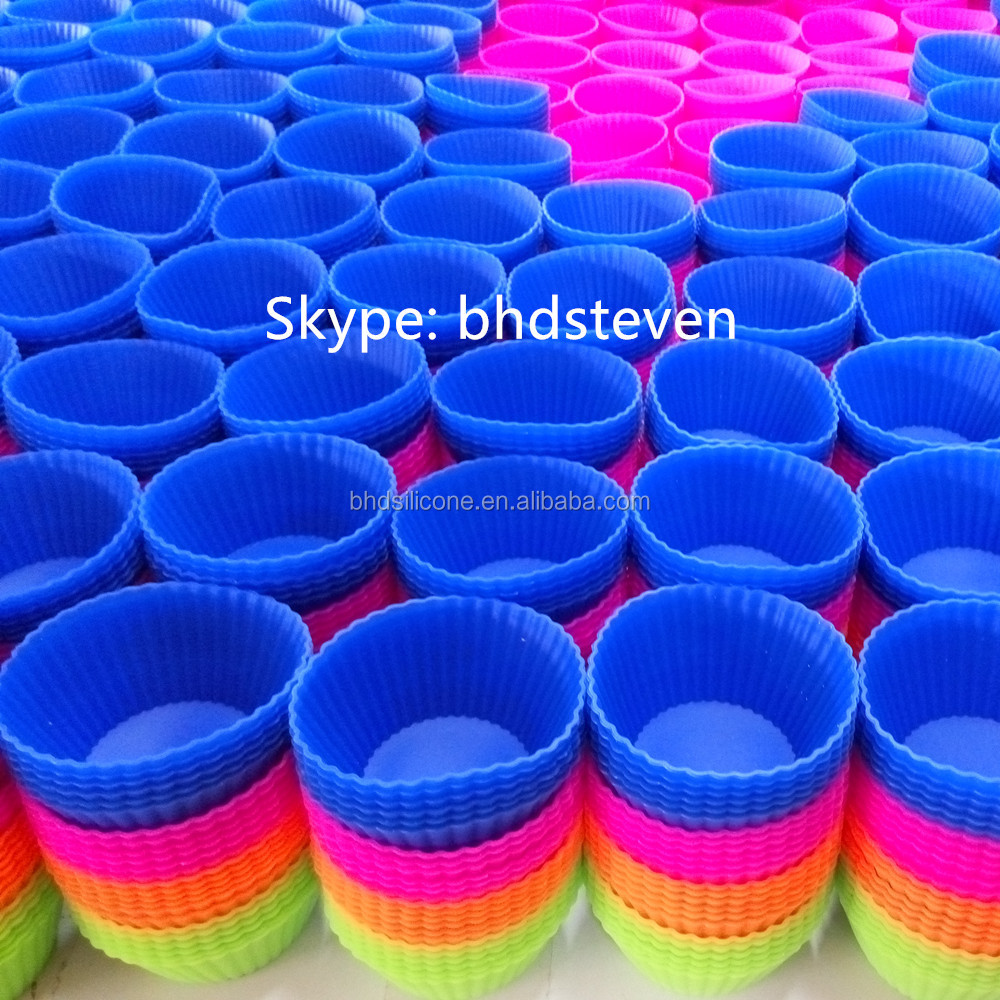 Fda Approvd Food Grade Silicone Muffin Baking Cake Cup ...