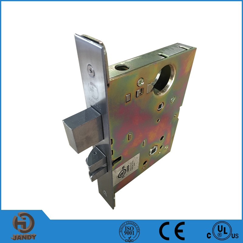 Top Quality stainless steel mortise door lock with cylinder for sale