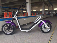 2016 fashion off road citycoco scooter new model Disc Brake type two wheel electric motorcycle for adults citycoco
