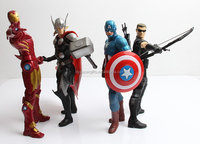American movie hero 19cm plastic figures,custom figures
