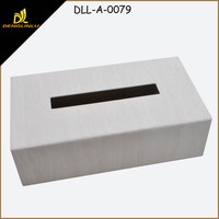 Hotel PU leather Tissue Box And Case