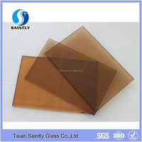 4mm 5mm tempered bronze glass