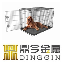 Boxer foldable dog crate