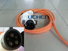 sae j1772 female electrical connector/J1772 type connector/sae UL approval wire