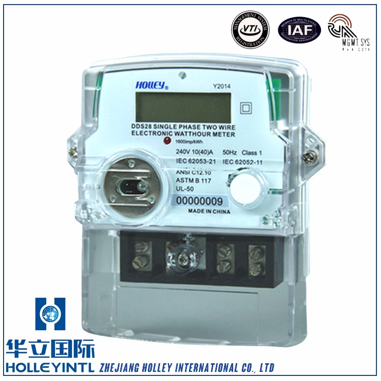 Cost-Effective Electronic Active Energy Meter