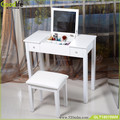 Mirror furniture Guangdong supplier bedroom makeup vanity table wholesale