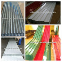 0.18mm thickness corrugated roofing sheet, textured metal roof