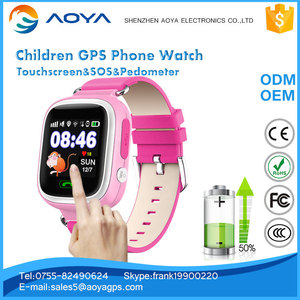 New function gps tracker kids watch with Real-time chatting two way communication