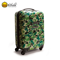 Beautiful travelmate soft luggage novelty animal luggage trolley bags for men