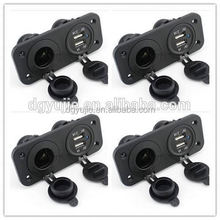 auto automobile motorcycle car cigarette lighter power socket outlet