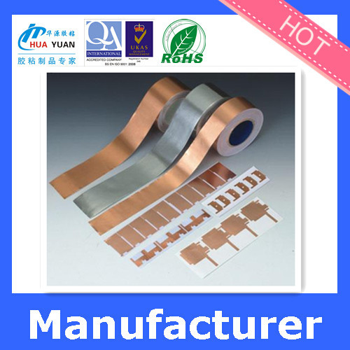 Custom 1\/4 inch copper foil tape, insulation copper adhesive tape