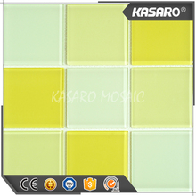 Lowes glass tile kitchen backsplash, decorative wall glass tile, yellow glass wall tile
