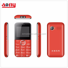 New cheap low cost feature phone big button quad band gsm senior bar phone