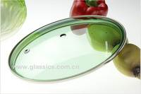 G type tempered glass lid for cookware pot glass cover