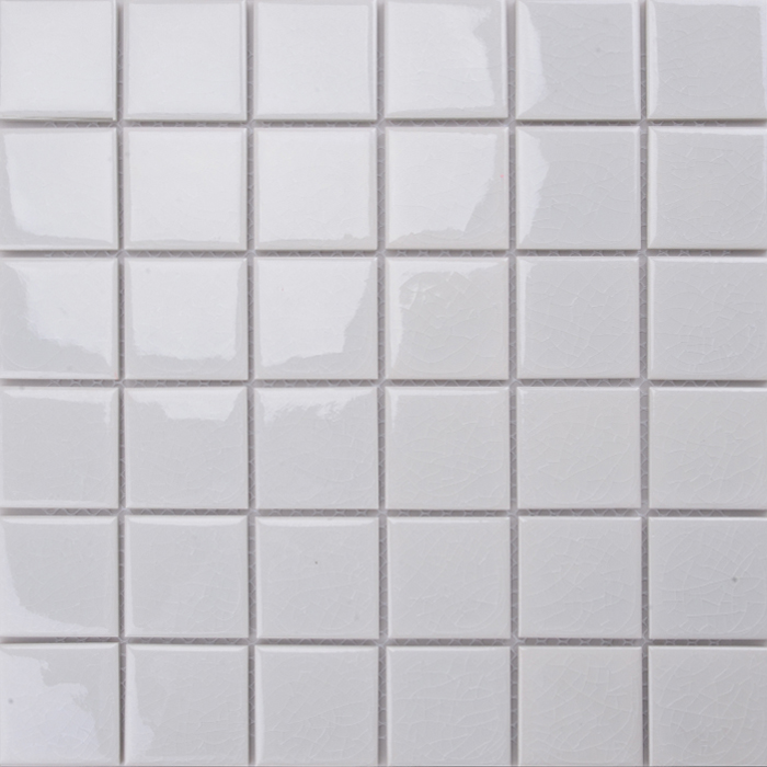 Md038t 10x10 White Tile 1 Inch Ceramic Mosaic Product On Alibaba