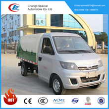New gasoline garbage truck mini Sealed bottled garbage truck for hot sale
