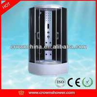 luxury shower cabin,economic hot sale shower room High quality revolving bathroom cabinet