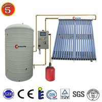 1000 Liter Split Pressure Industrial Solar Water Heater For Commercial