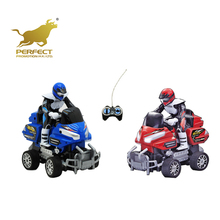 High quality plastic 4 wheel motorcycle with driver,4 channel rc motorcycle for kids for sale