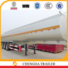 China factory 5mm Q235 carbon steel gasoline diesel oil fuel tank semi trailer