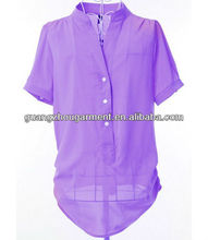 2013 new design fashion formal blouses