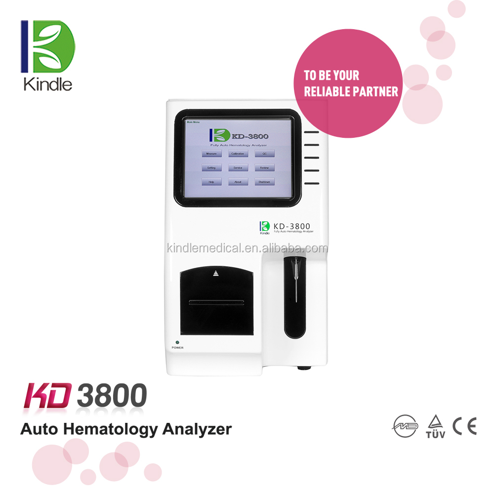 KD3800 Best Seller Auto Hematology Analyzer With Touch Screen Operation