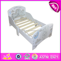 2016 new design wooden kid bed,high quality wooden kid bed,best wooden kid bed W08A011
