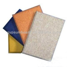 2014 modern design decorative fabric acoustic insulation wall panel for home decor