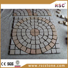 round paving slabs