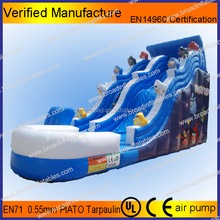 Durable giant inflatable kids water slide,large water slide,vinyl water slide