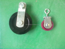 2016 high quality standard plastic nylon pulley Pulley with closed hook