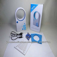 hot Selling ABS Mini Bladeless Fan Air Conditoner Hold USB Cooling Fans/usb desk fans