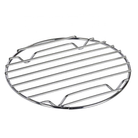 High Quality Kitchen Table Tool Chrome Stainless Steel Hot Pan Pot Mat Saucepan Holder Mat Cast Iron Trivet Square
