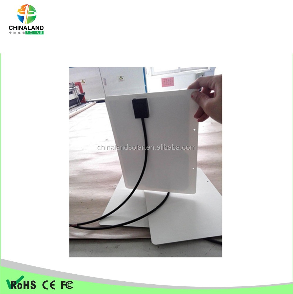 5W 6W 8W 10W Semi Flexible solar panel made in China with A-grade Sunpower cells solar module