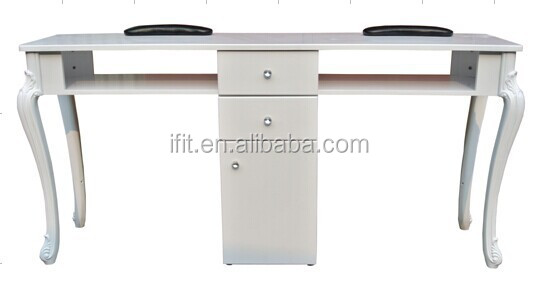 European double maincure nail table