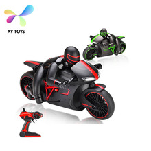 New 2.4G 4CH RC high speed plastic Motorcycle rc nitro motorcycle XY-808